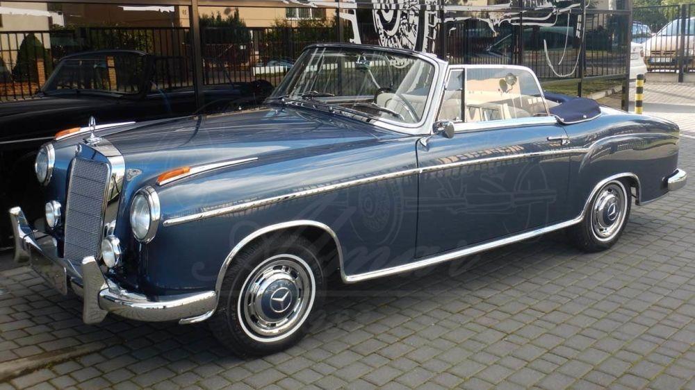 Mercedes Benz 220 S Cabriolet A / C W180 1956-1959 - Almar Oldtimer Mercedes